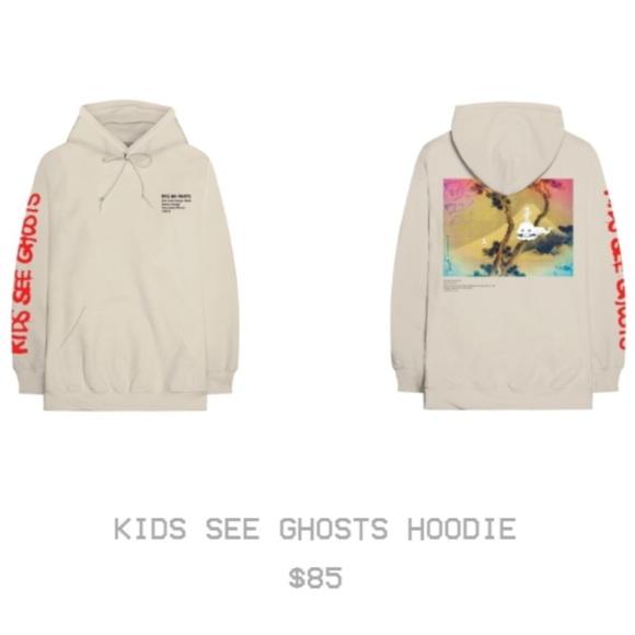Kids See Ghosts Shirts Hoodie Edition 1 Virgil Abloh Poshmark